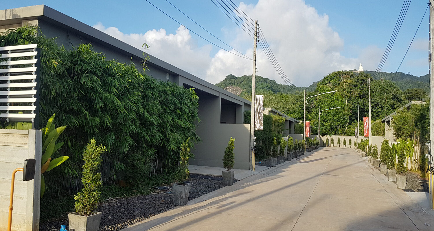 Chalong Bay Pool Villa for rent